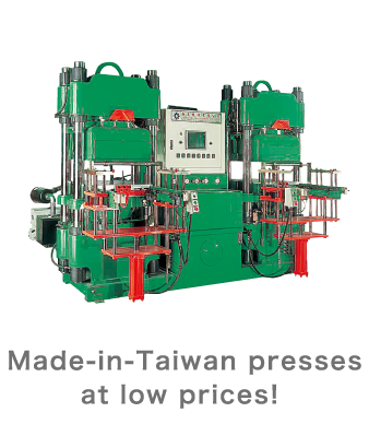 Made-in-Taiwan presses at low prices!